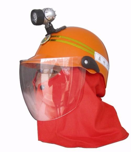 头灯式消防头盔