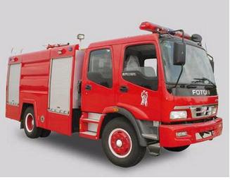 卷帘门森林消防车