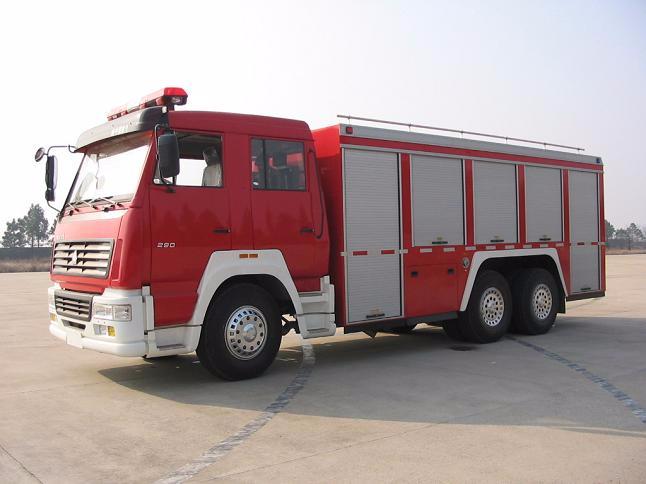 消防救援车
