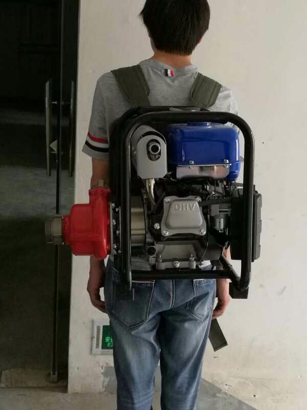 四冲程金斯顿进口消防高压水泵